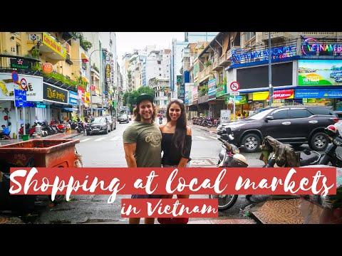 VIETNAM | SHOPPING at LOCAL MARKETS in Ho Chi Minh City | DESIGNER KNOCK OFFS | Travel VLOG #6 |NEXT