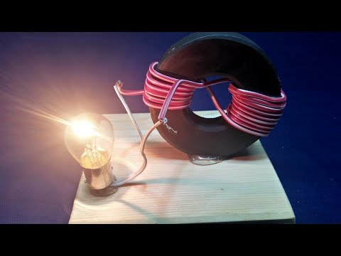 Free Energy Generator Magnet Coil New Technology New Idea Project 100% Real