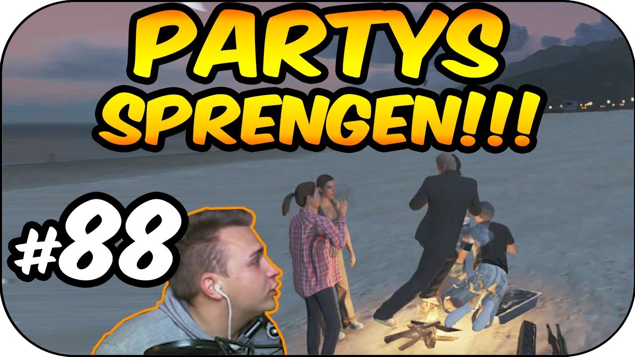 Kev  STRANDPARTYS SPRENGEN [Assi Kev] | GTA 5 Online #88 - YouTube