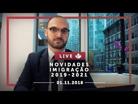 LIVE: Novidades Imigração 2019-2021