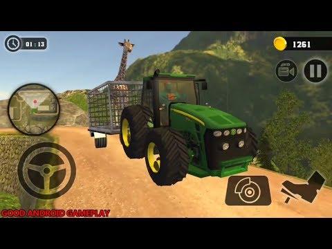 Superhero Animal Transport Tractor Simulator 2018 #6 - ALL Tractors Unlocked Android GamePlay FHD