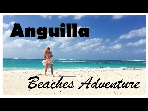 Anguilla Beaches Adventure Vlog - (On the set of Coupled)