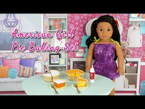American Girl Doll Truly Me Pie Baking Set