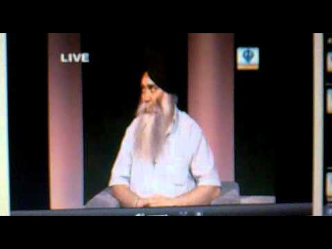 baba baljit singh daduwal on sikh channel 2011-07-14 about present sikh issues part 1