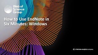 Wie zu Verwenden EndNote in 6 Minuten: Windows