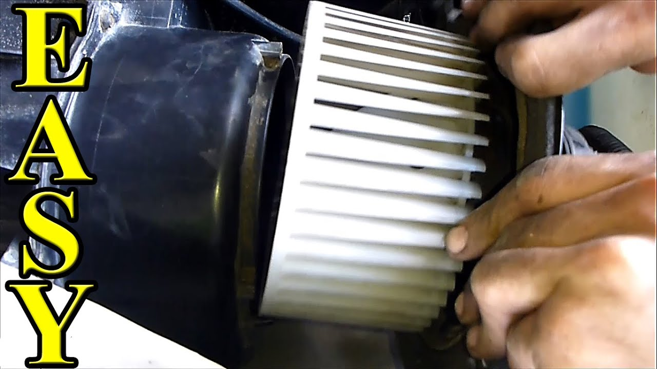 how to fix a noisy blower motor ac heat fan [ 1280 x 720 Pixel ]