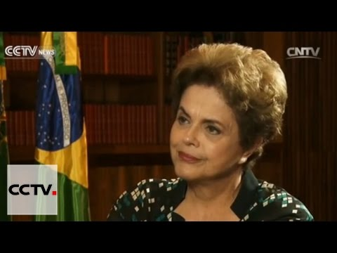 CCTV exclusive interview with Dilma Rousseff