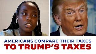 Americans Compare Their Taxes to President Trump's Taxes | Joe Biden For President 2020