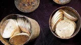 Paslı kutulardan 10 milyon dolarlık altın çıktı - BBC TÜRKÇE