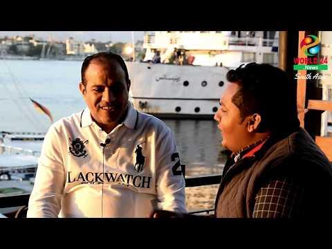 Business in Luxor, Egypt. Speak by Mahmoud Edris