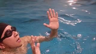 DM体力テスト15分立ち泳ぎ