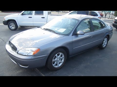 2006 Ford Taurus Sel Review Engine Start Up