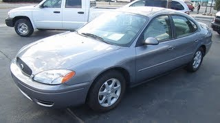 2006 FORD TAURUS SEL Review Engine Start up Mp3