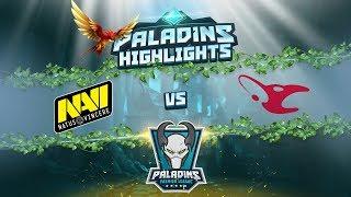 Paladins highlights: navi vs mousesports @ paladins premier league