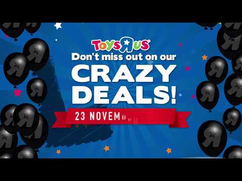 Black Friday Deals At Toys R Us