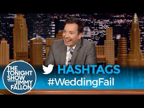 Hashtags: WeddingFail