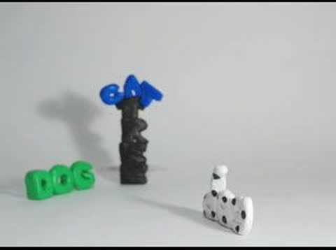 Typographical Stop Motion Video