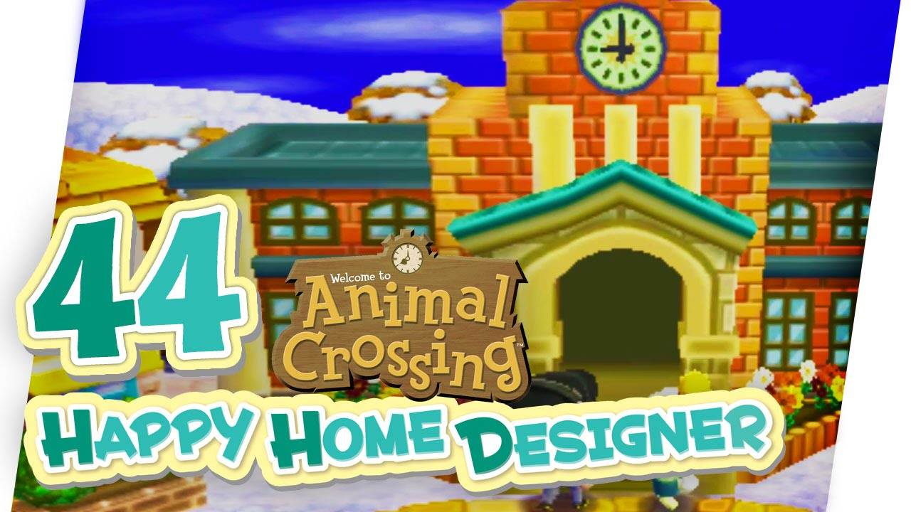 Schulausbau animal crossing happy home designer 44 for 7 11 happy home designer