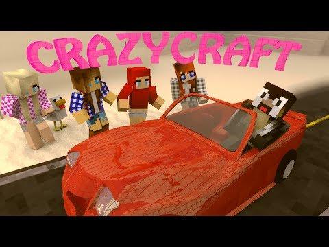 """Minecraft   CrazyCraft - OreSpawn Modded Survival Ep 4 - """"GIRLFRIEND MOD MADNESS"""""""