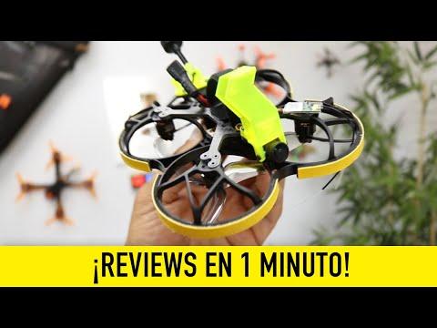 ¿Otro Cinewhoop CLON más? Reviews en 1 minuto [URUAV FLIPO 95]