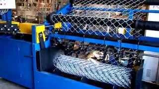 Automat do produkcji siatki ogrodzeniowej
