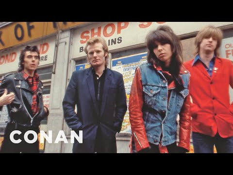Chrissie Hynde On The Early Days Of MTV  - CONAN on TBS