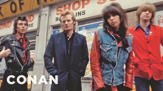 Download lagu Chrissie Hynde On The Early Days Of MTV  - CONAN on TBS