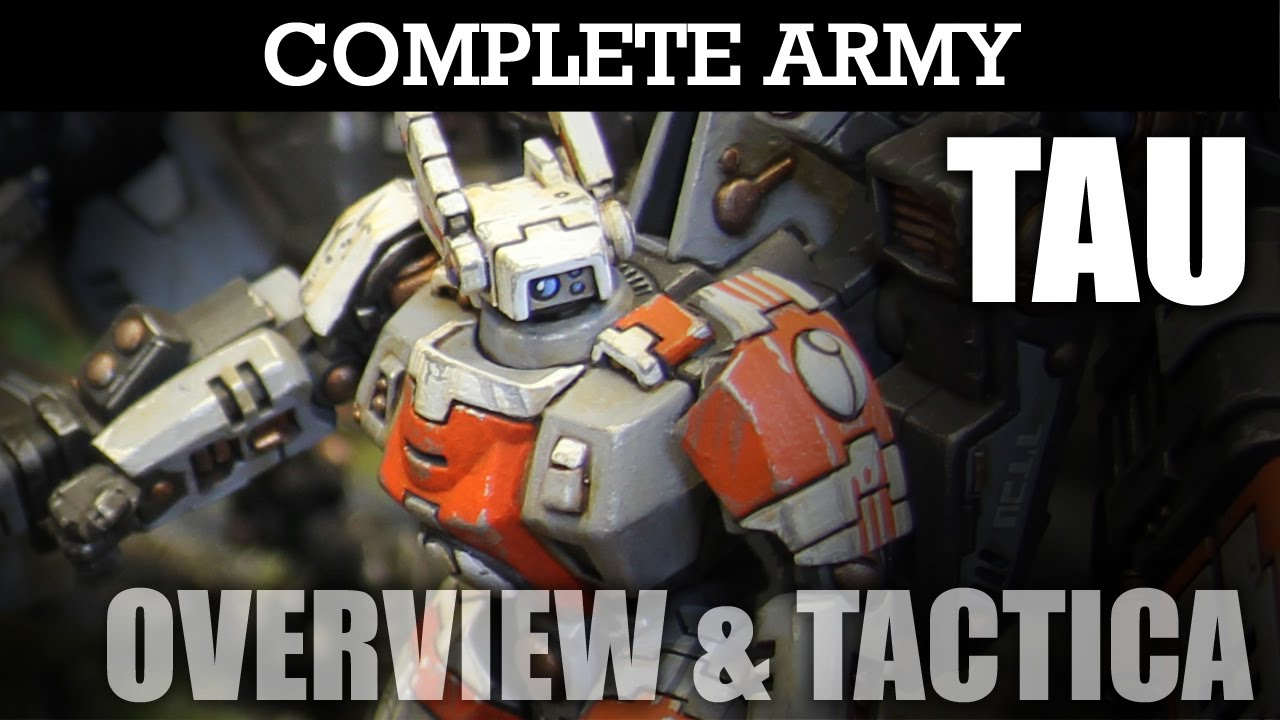 TAU Complete Army Overview 2, Tactica & Battle Plan! Warhammer 40K Army  Showcase