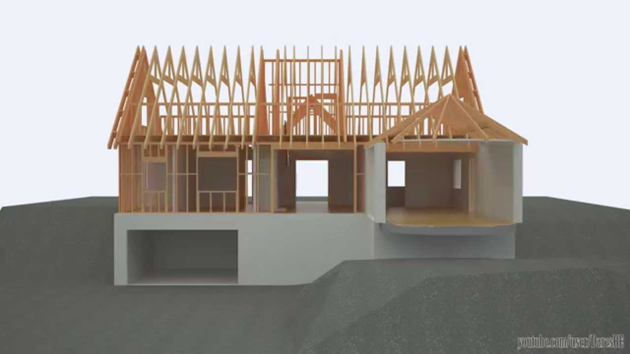 Revit 3ds max building a timber framed detached house for How to go about building a house
