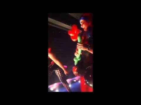 Hip Hop Clown Show // Hip Hop Chic // Cirque Le Soir Dubai // Eve Elle