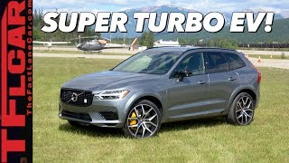 How Quick is the New 2020 Volvo XC60 T8 Polestar Hybrid in a QUARTER Mile? Let's Find Out