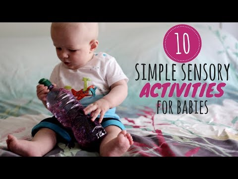 10 Simple Sensory Activities For Babies Diy Baby Entertainment