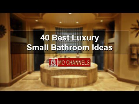 40 Best Luxury Small Bathroom Ideas