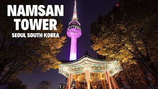 Korea Travel Vlog: Namsan Park and Namsan Tower, Seoul, South Korea