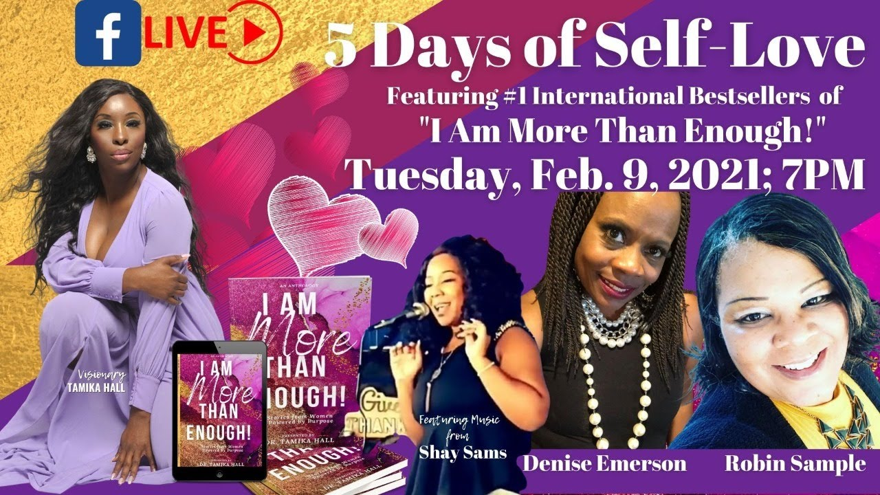 (Day 2) Featuring: Denise Emerson, Robin Sample, Music by Shay Sams