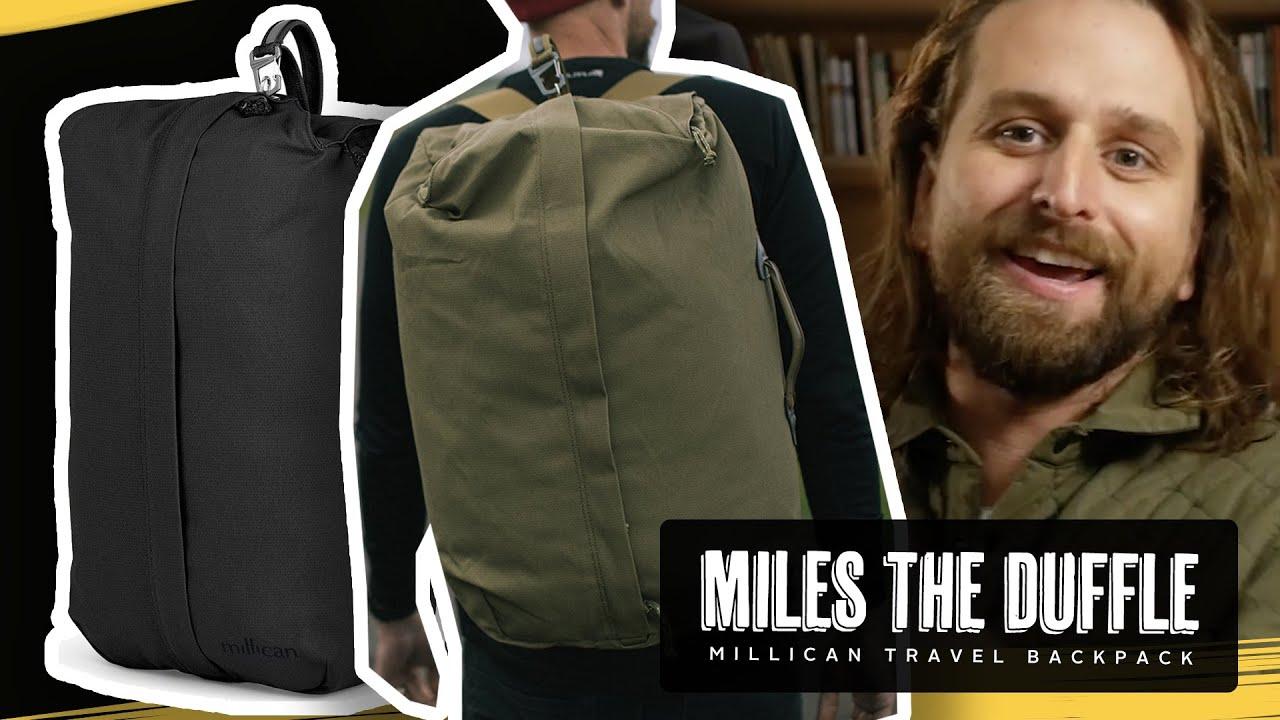 b419f9c70c49 MILLICAN MILES DUFFEL BAG MASSIVE REVIEW - YouTube