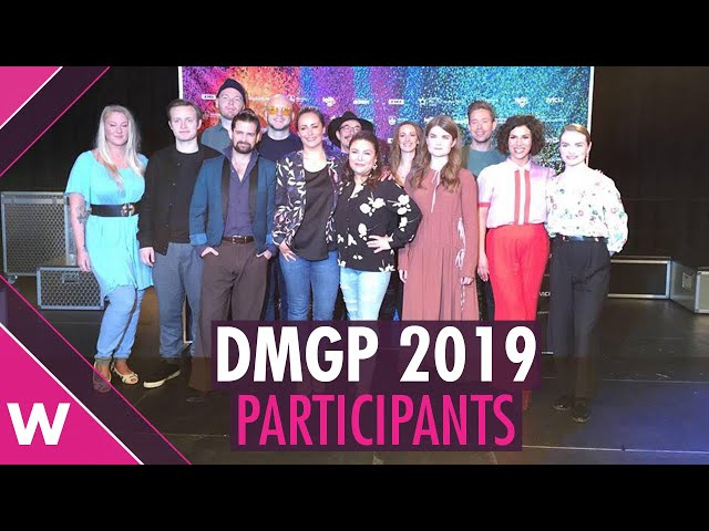 Dansk Melodi Grand Prix 2019 Finalists (Interview) | wiwibloggs
