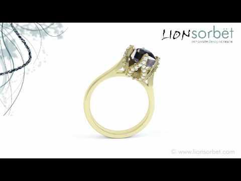 Bespoke Jewellery Animation - 2ct Rough Diamond