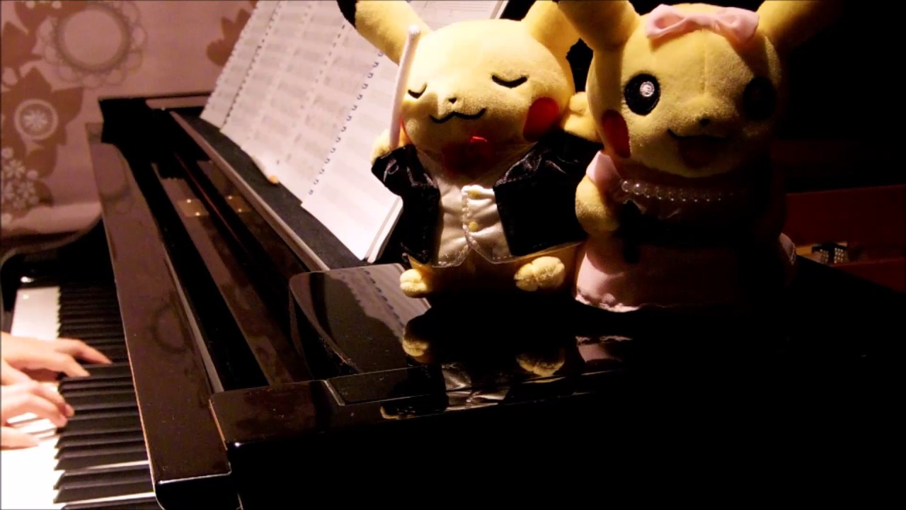 オラシオンのテーマ」をピアノで弾いてみた(ポケモン映画『キミにきめた