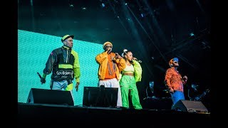 Performing with THE BLACK EYED PEAS in KAABOO, TEXAS