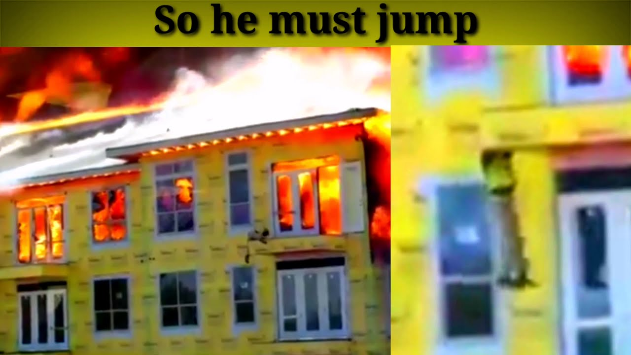 AMAZING FISHING TOOLS SNAKE IN FORCING & BUILDING IS ON FIRE CONSTRUCTION WORKER MAN TRAPPED