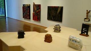 Remigio  Mendiburu en el Bellas Artes