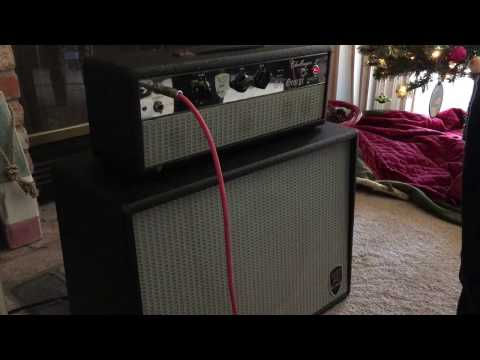 St George Challenger II - Quick dirty demo - Ray Massie Fender Amp