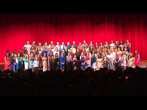 North Pocono Middle School Chorus Spring Concert 2018