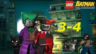 LEGO Batman (Villains Campaign) 3-4. The Lure of the Night