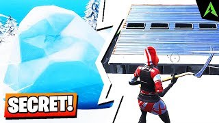 Bunker-ul 'SECRET' à Fortnite.