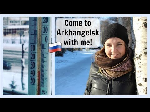Vlog in Russian 1. Come to the RUSSIAN NORTH with me in winter! ♡ Rus. & Eng. subtitles