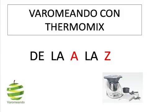 Varomeando con Thermomix