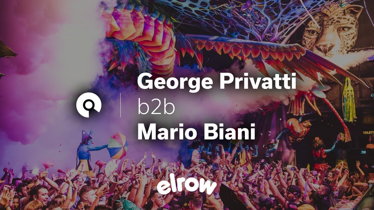 Download George Privatti b2b Mario Biani @ Elrow Ibiza Closing Party 2016 (BE-AT.TV)