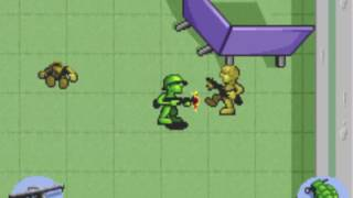 GBA Army Men Advance - 5 MINUTES OF GAMEPLAY